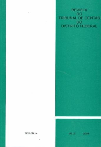 Capa de Livro: Revista do TCDF v. 30 t. 2 (2004)