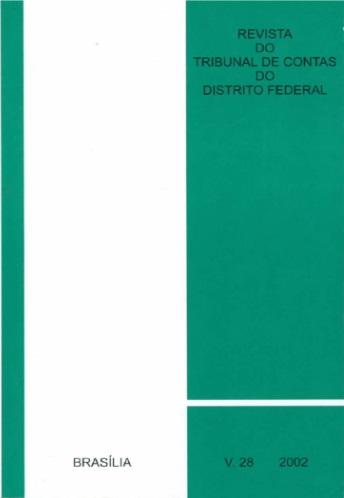 Capa de Livro: Revista do TCDF v. 28 (2002)