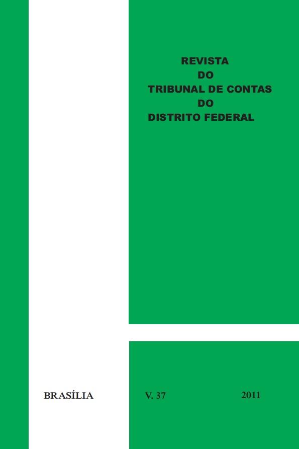 Capa de Livro: Revista do TCDF v. 37 (2011)