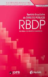 Capa de Livro: Revista Brasileira de Direito Público (mar. 2019)