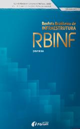 Capa de Livro: Revista Brasileira de Infraestrutura (jul. 2019)