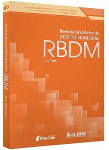 Capa de Livro: Revista Brasileira de Direito Municipal (dez. 2019)