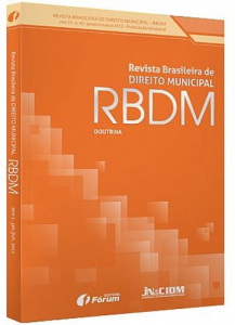 Capa de Livro: Revista Brasileira de Direito Municipal (jun. 2019)