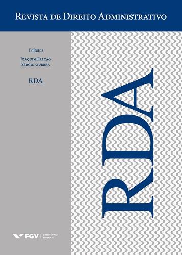 Capa de Livro: Revista de Direito Administrativo (dez. 2019)