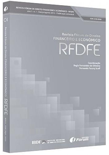 Capa de Livro: Revista Fórum de Direito Financeiro e Econômico (fev. 2019)