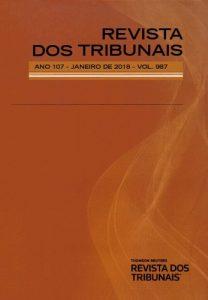 Capa de Livro: Revista dos Tribunais (jul. 2019)