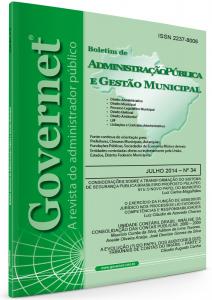 Capa de Livro: Boletim de Administração Pública e Gestão Municipal (jun. 2019)