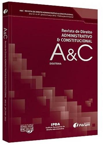 Capa de Livro: Revista A&C (dez. 2019)