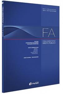 Capa de Livro: Fórum Administrativo (jan. 2020)