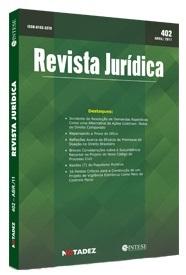 Capa de Livro: Revista Jurídica (jun. 2019)