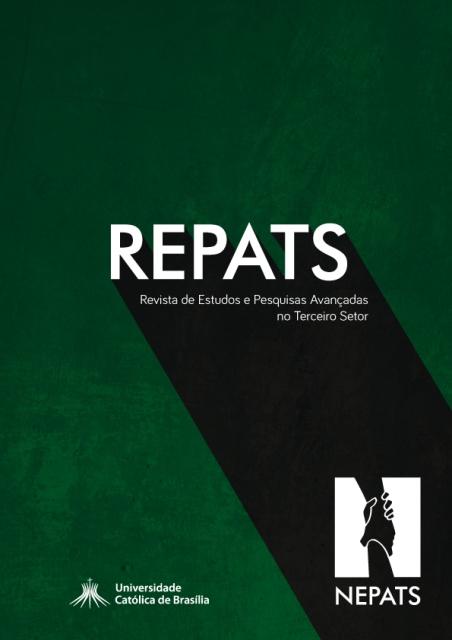 Capa de Livro: Revista de Estudos e Pesquisas Avançadas do Terceiro Setor (dez. 2019)