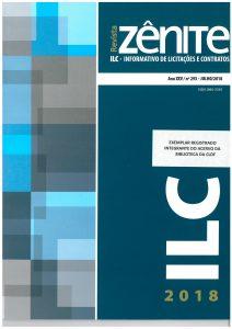 Capa de Livro: Revista Zênite ILC (jul. 2019)