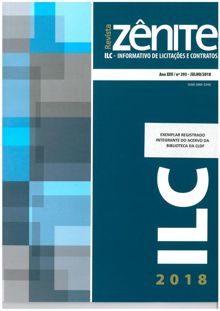 Capa de Livro: Revista Zênite ILC (dez. 2019)