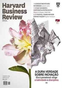 Capa de Livro: Harvard Business Review Brasil (fev. 2019)