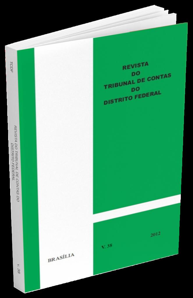 Capa de Livro: Revista do TCDF v. 38 (2012)
