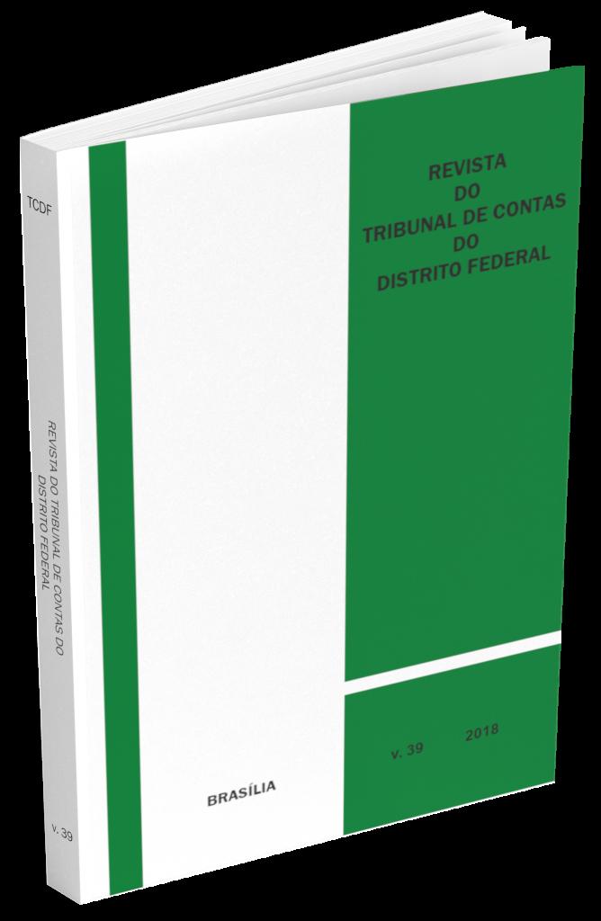 Capa de Livro: Revista do TCDF v. 39 (2018)
