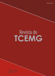 Capa de Livro: Revista do TCEMG (dez. 2019)