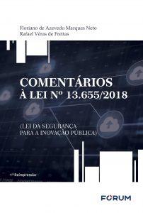 Capa de Livro: Comentários À Lei Nº 13.655/2018