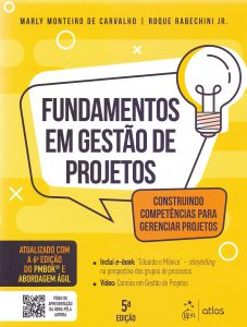 Capa de Livro: Fundamentos de Gestão de Projetos