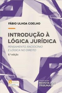 Capa de Livro: Introdução à lógica jurídica: pensamento, raciocínio e lógica