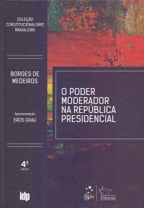 Capa de Livro: O Poder Moderador na República Presidencial (4ª edição)