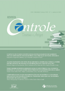 Capa de Livro: Revista Controle (jun. 2019)