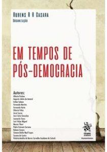 Capa de Livro: Em Tempos de Pós-Democracia
