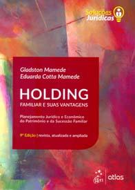 Capa de Livro: Holding Familiar e Suas Vantagens (11ª Edição)