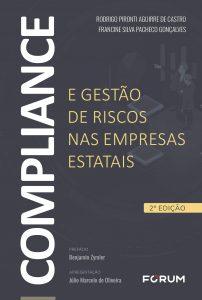Capa de Livro: Compliance e gestão de riscos nas empresas estatais