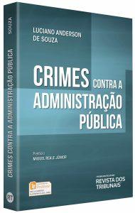 Capa de Livro: Crimes contra a administração pública