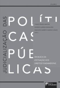 Capa de Livro: Judicialização das políticas públicas: em busca da efetivação dos direitos fundamentais