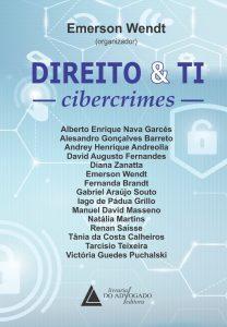 Capa de Livro: Direito e TI: cibercrimes