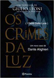 Capa de Livro: Os crimes da luz