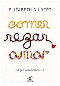 Capa de Livro: Comer, rezar, amar