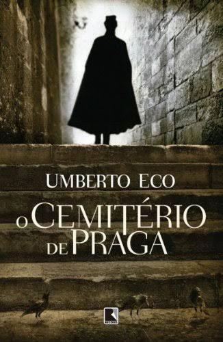 Capa de Livro: O cemitério de Praga