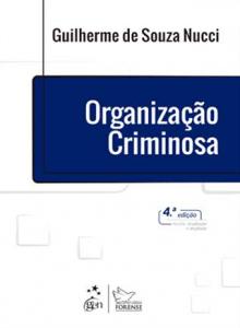 Capa de Livro: Organização criminosa