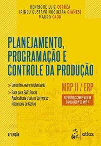 Capa de Livro: Planejamento, programação e controle da produção