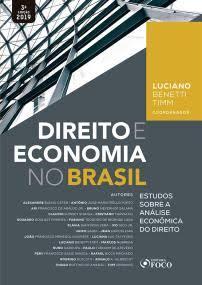 Capa de Livro: Direito e economia no Brasil: estudos sobre a análise econômica do direito