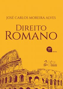 Capa de Livro: Direito Romano