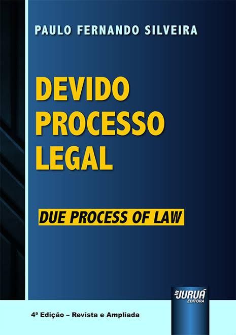 Capa de Livro: Devido processo legal