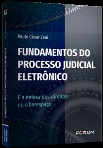 Capa de Livro: Fundamentos do processo judicial eletrônico