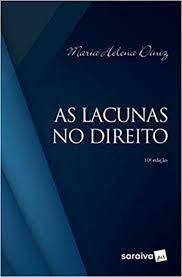 Capa de Livro: As lacunas no direito
