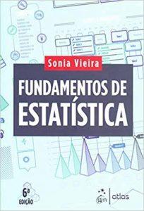 Capa de Livro: Fundamentos de estatística