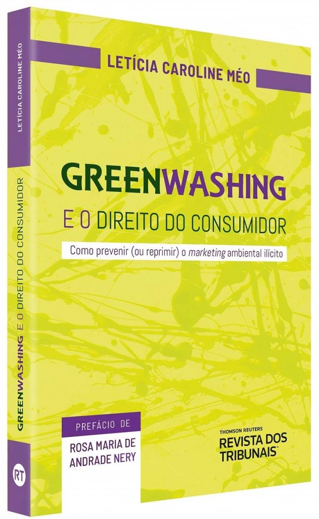 Capa de Livro: Greenwashing e o direito do consumidor