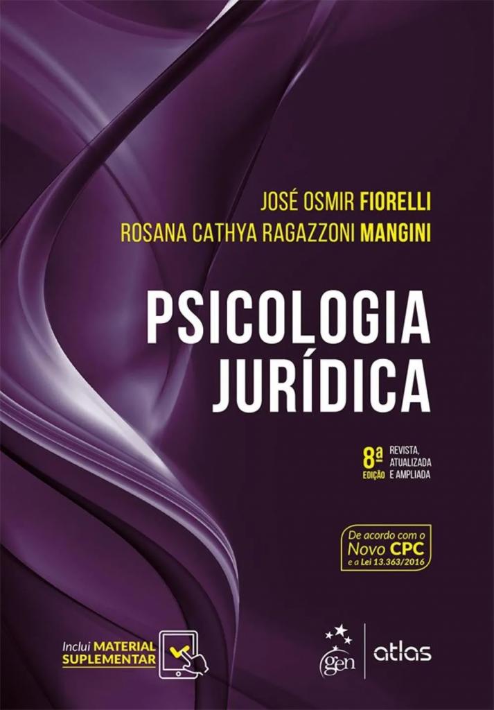 Capa de Livro: Psicologia jurídica