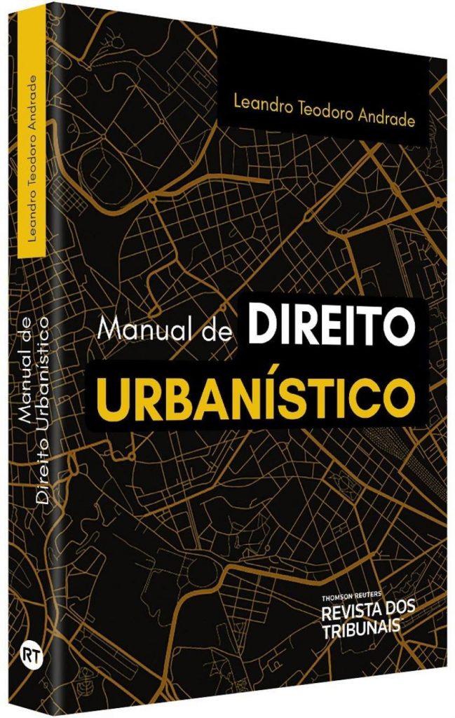Capa de Livro: Manual de direito urbanístico