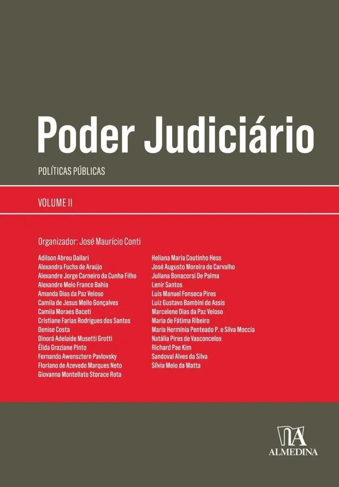 Capa de Livro: Poder judiciário: políticas públicas