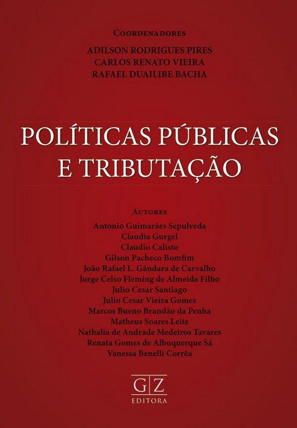 Capa de Livro: Políticas públicas e tributação