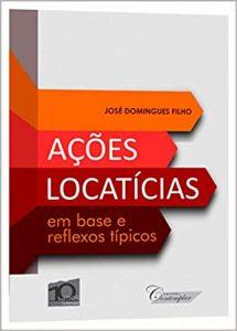 Capa de Livro: Ações locatícias