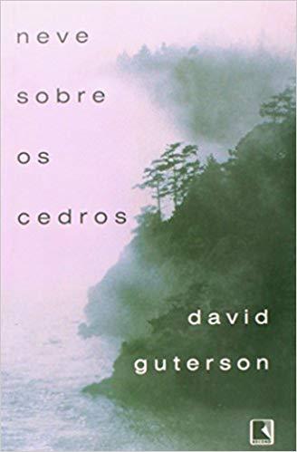 Capa de Livro: Neve sobre os cedros